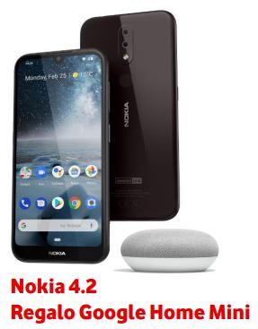 Onice Vodafone Nokia 4.2 regalo Google mini