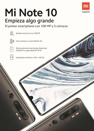 Onice Vodafone Mi Note 10